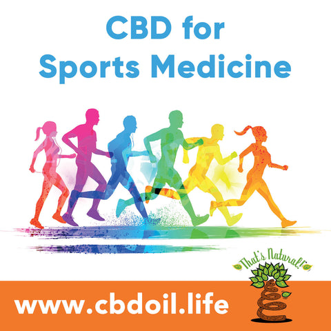 Professional athletes are turning to, or wanting to turn to CBD instead of opioids - Full Spectrum CBD Oil products from That's Natural at www.cbdoil.life