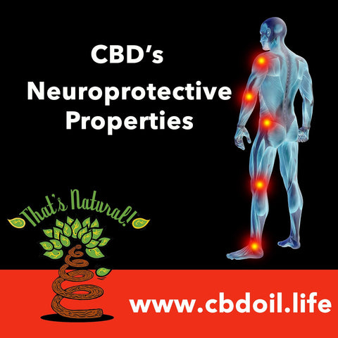 CBD has Neuroprotective Properties, including: anti-inflammatory, immunomodulatory, anxiolytic, and antidepressant effects. See more at www.cbdoil.life