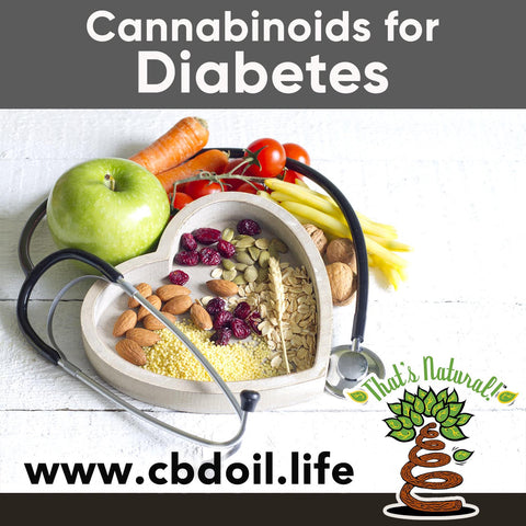 CBD for Diabetes - Research on Cannabidiol for Diabetes - Full Spectrum Cannabinoids and Terpenes from That's Natural at www.cbdoil.life