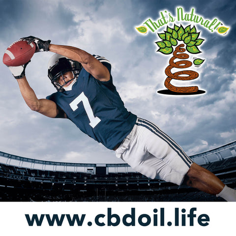 The NFL's Need for Non-Opiate Pain Killers - CBD for Chronic Pain from That's Natural at cbdoil.life