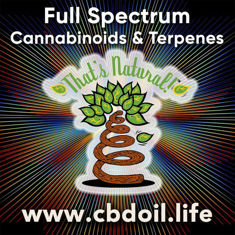 That's Natural Full Spectrum CBD-Rich Hemp Oil - Cannabinoids, Terpenes, and the Entourage Effect at www.cbdoil.life