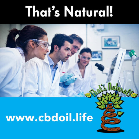 Research on CBD and cannabinoids from the National Institutes of Health (NIH) - phytocannabinoids for the Endocannabinoid System from Thats Natural at www.cbdoil.life
