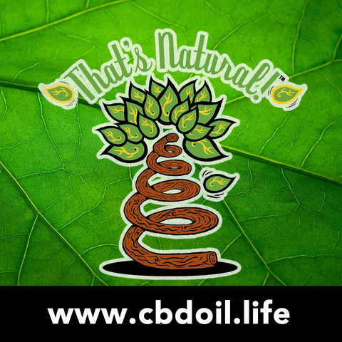 CBD from That's Natural at www.cbdoil.life