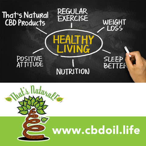 That's Natural CBD Oil from Colorado hemp - legal in all 50 States - Full spectrum cannabinoids and terpenes at www.cbdoil.life