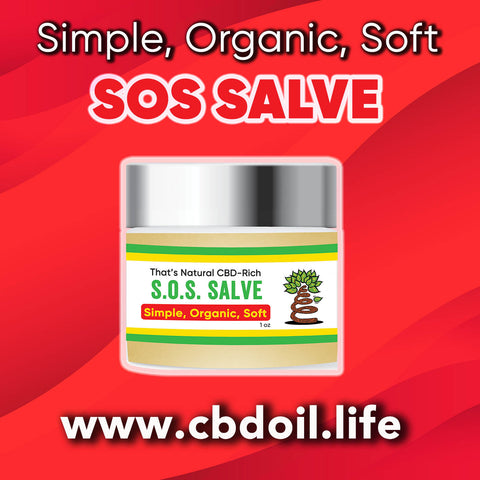 Simple, Organic, Soft - CBD Salve, CBD topicals - most trusted CBD company, best-rated CBD company - That's Natural CBD and CBDA at www.cbdoil.life, cbdoil.life, thatsnatural.info