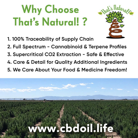 What's the best CBD Oil?  That's Natural CBD-rich hemp oil is a full spectrum product with cannabinoids and terpenes - see more at www.cbdoil.life