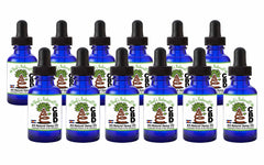 12-Bottle Pack - Premium CBD Hemp Oil from That's Natural - 3,000mg Total