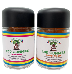 CBD Gummy Bottles