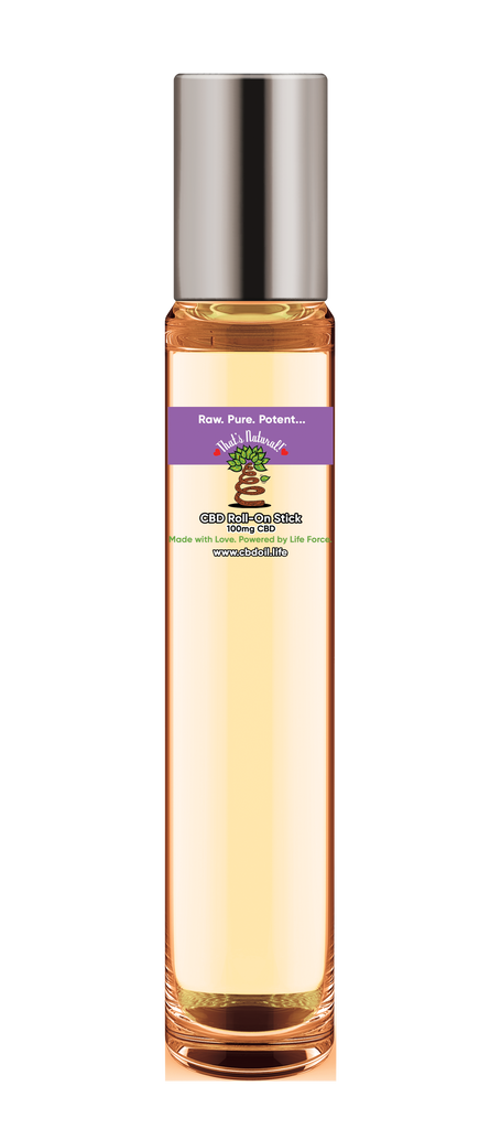 CBD Roll-On with Organic Sweet Almond Oil & Exotic Essential Oils