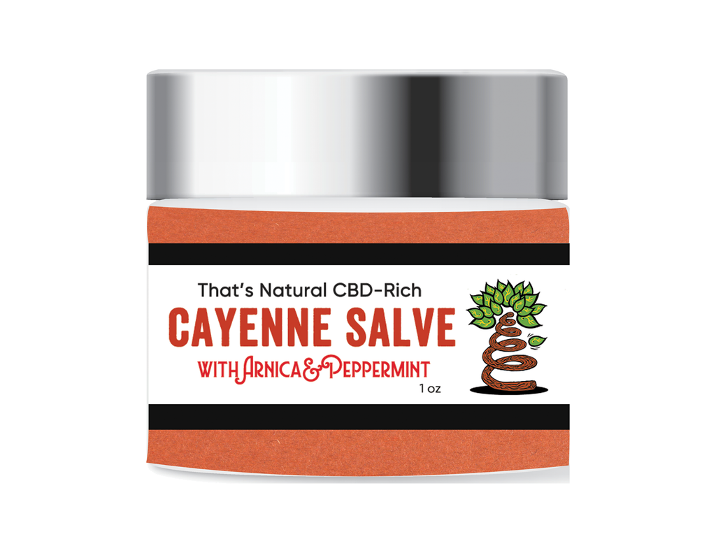 CBD-Infused Cayenne Salve
