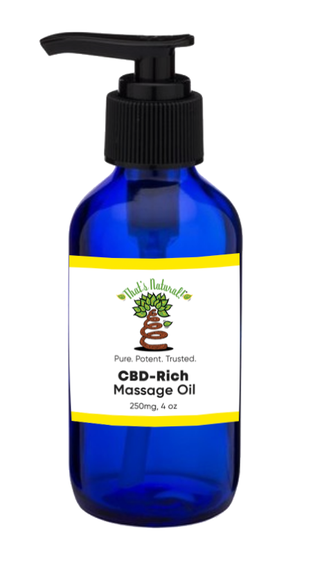 CBD-Rich Massage Oil