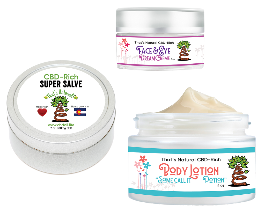 That's Natural CBD Skin Care Sampler