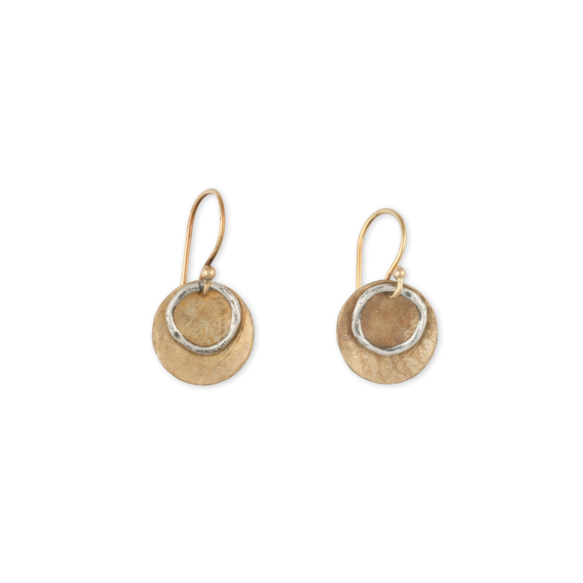 Earring_Bronze_Accessories_Made_In_Amercia_Circle_Sterling
