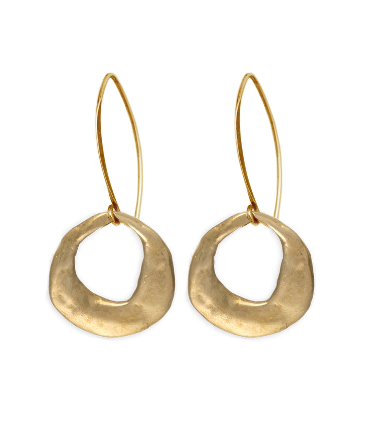 crescent-earring-bronze-silver-ancient-kristen-mara