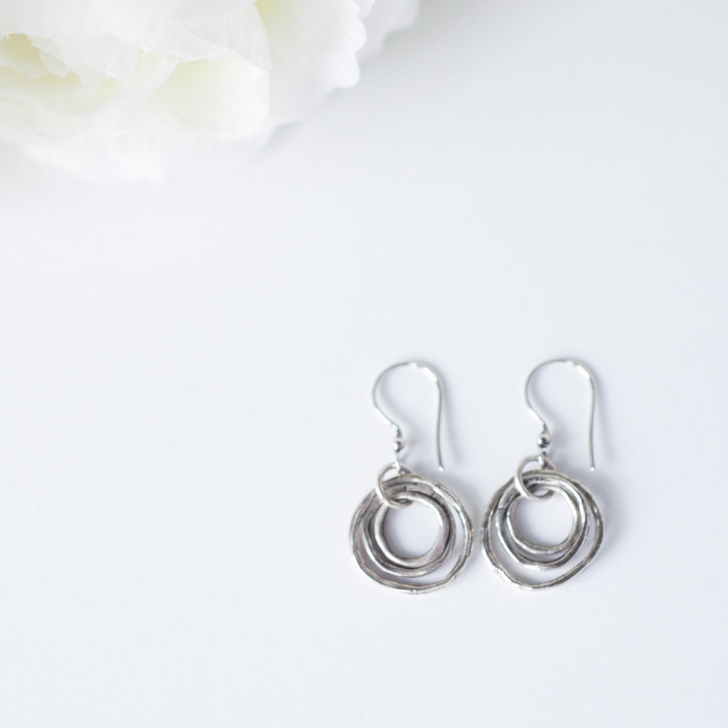 Handmade-Earrings-Easy-Style-Circle-Earring