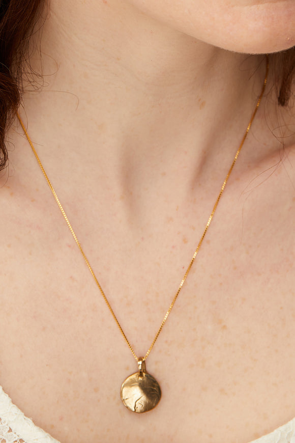 This Moment Necklace | Bronze