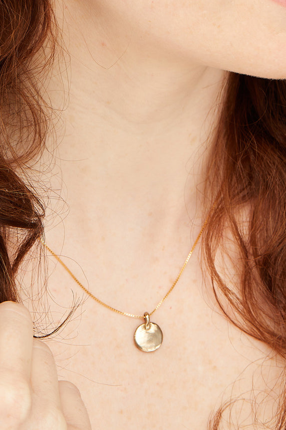 NEW! Simple Grace Necklace | Bronze