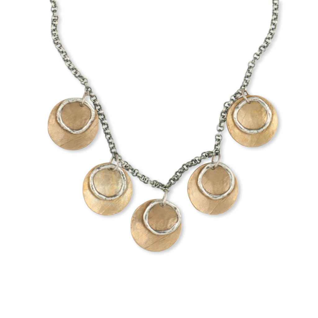 Mixed-metals-Handcrafted-Charm-Necklace-Kristen-Mara