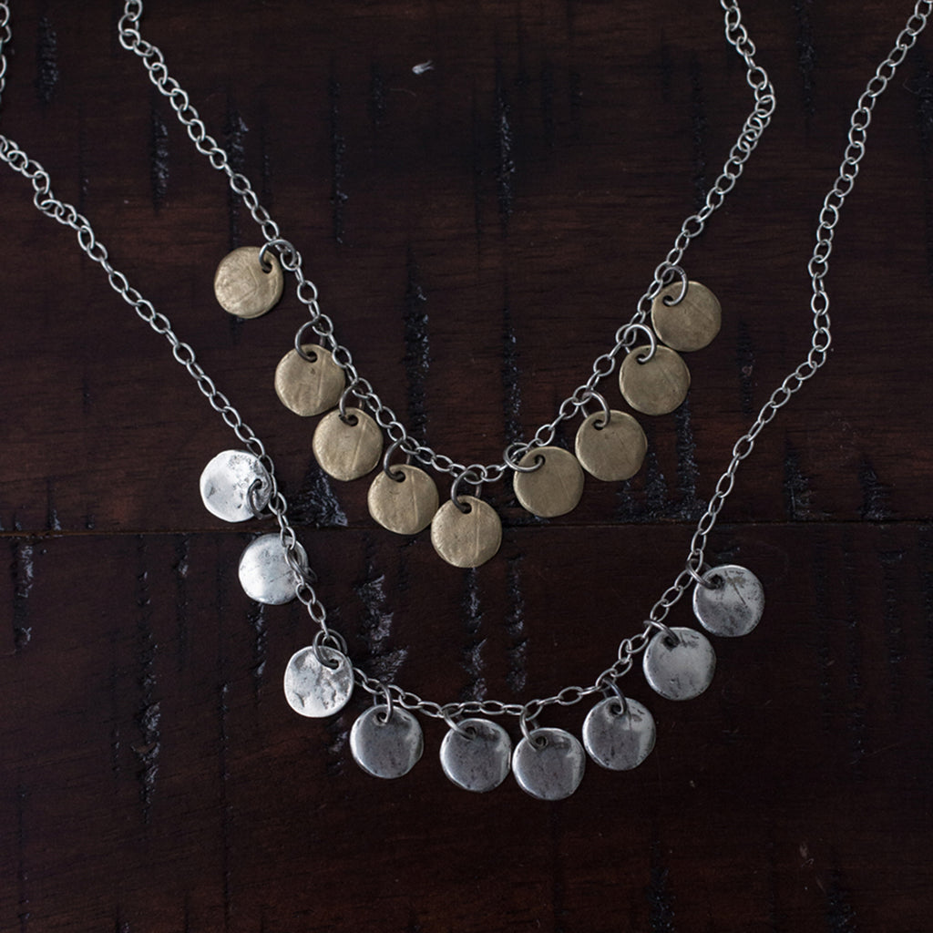 disc-charm-necklace-layering-casual-rustic-kristen-mara