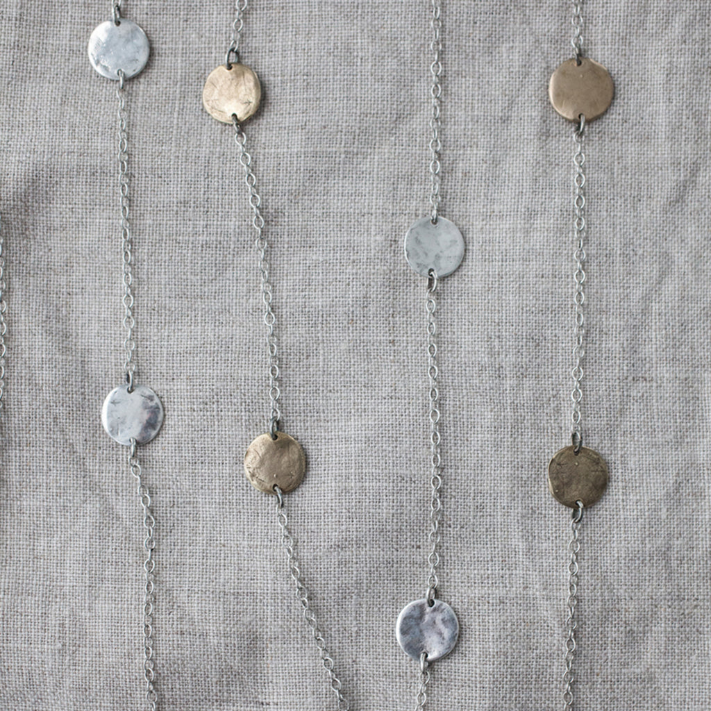 necklace-long-layering-versatile-silver-bronze-mixed-metals