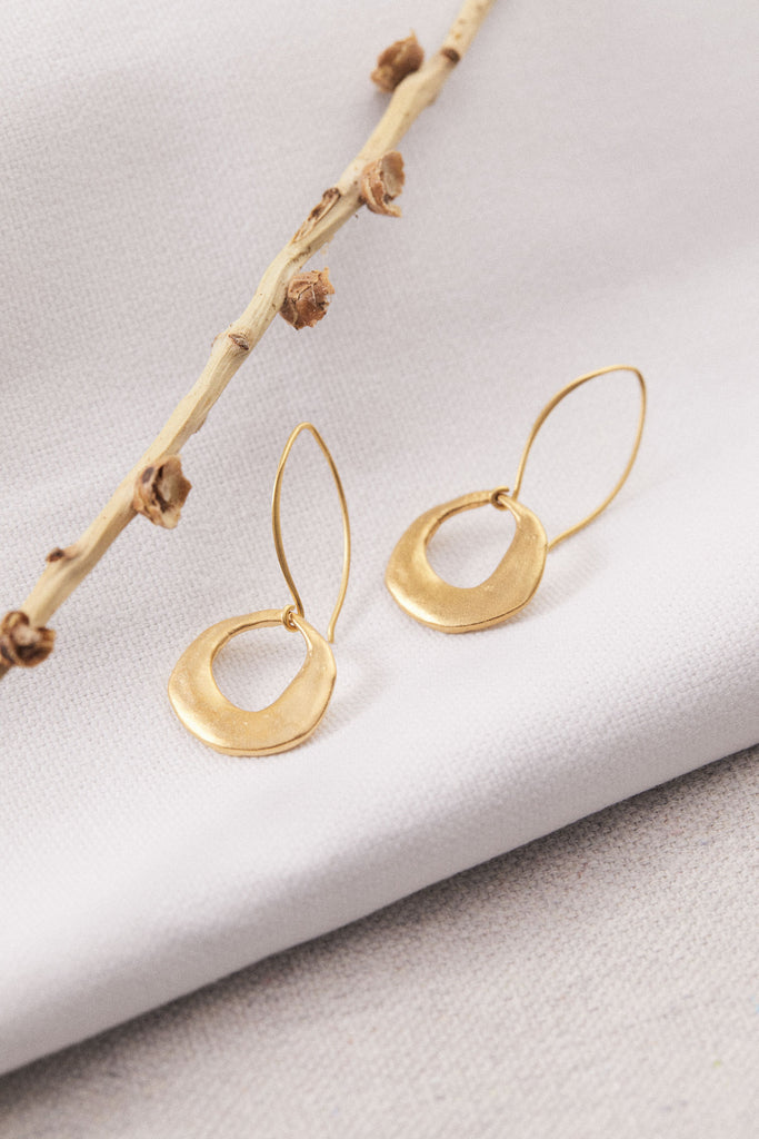 Ancient Crescent Earrings