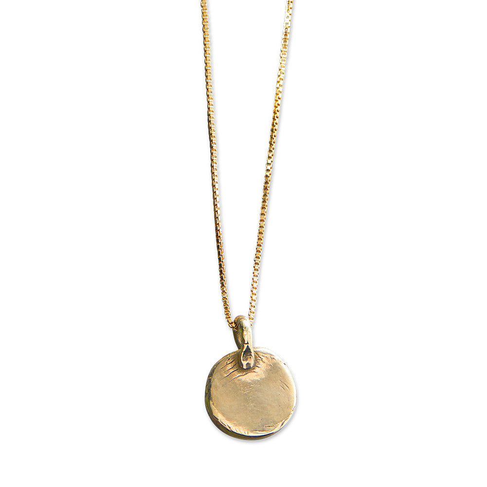 Simple Grace Necklace | Bronze