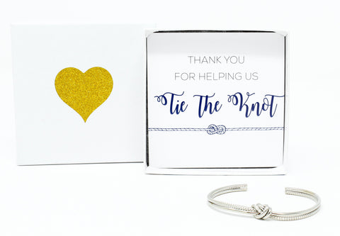 Sailor Love Knot Bracelet - Thank You