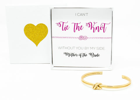 Sailor Love Knot Bracelet - Mother of the Bride