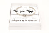Sailor Love Knot Bracelet - Jr. Bridesmaid