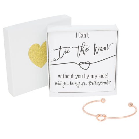 Single Tie the Knot Bracelet - Jr. Bridesmaid