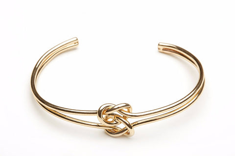 tie the knot double knot bracelet