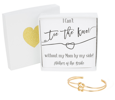 Double Tie the Knot Bracelet - Mother of the Bride