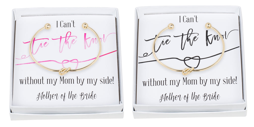 Single Tie the Knot Bracelet - Mother of the Bride