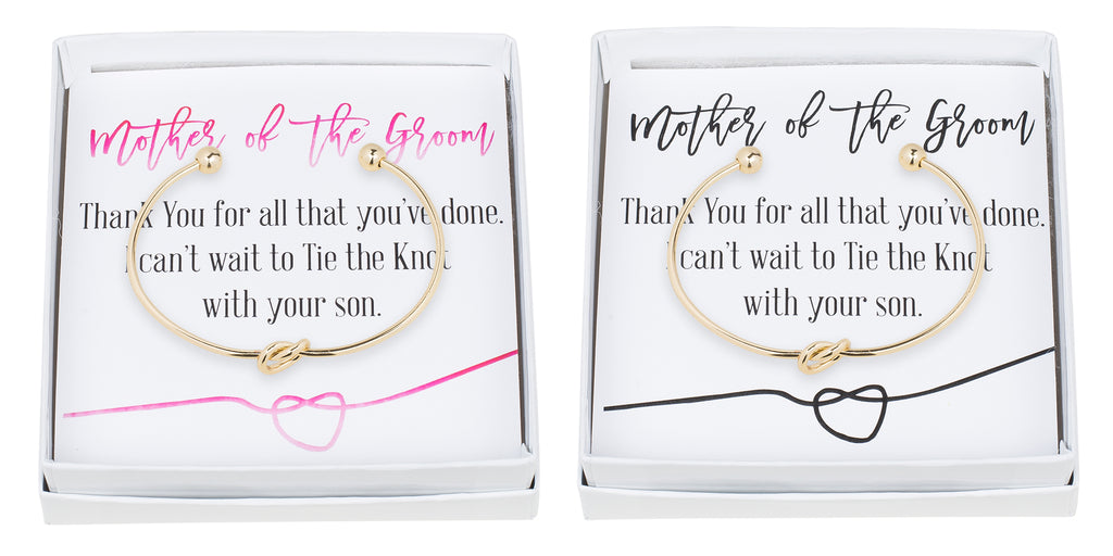 Single Tie the Knot Bracelet - Mother of the Groom