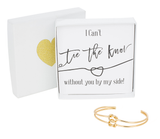 Double Tie the Knot Bracelet - Plain