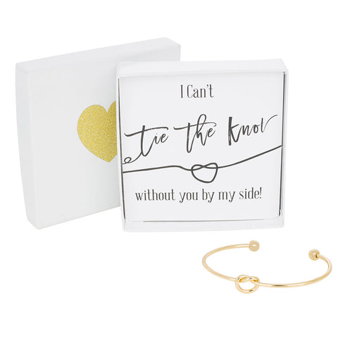 Single Tie the Knot Bracelet - Plain