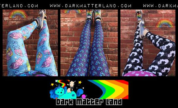 Indigo Child Hearts Leggings