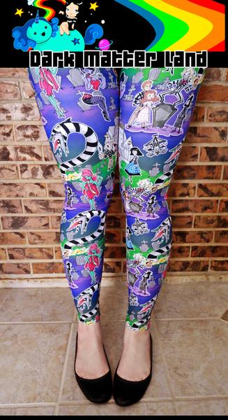 Strange and Unusual Leggings