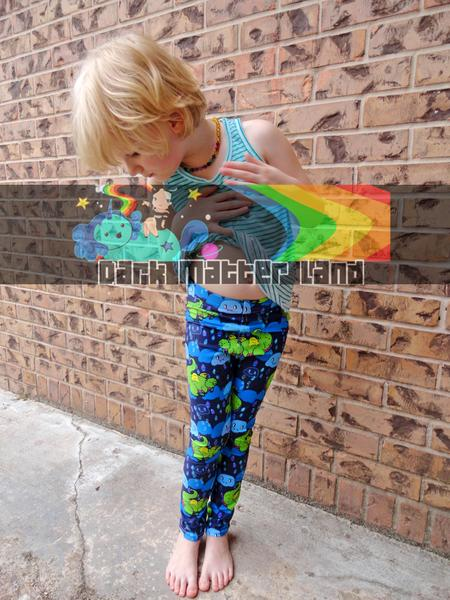 Munch the Cupcake Dragon Children's Leggings