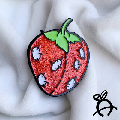 Stitchberry Enamel Pin