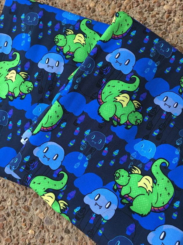 Munch the Cupcake Dragon Leggings