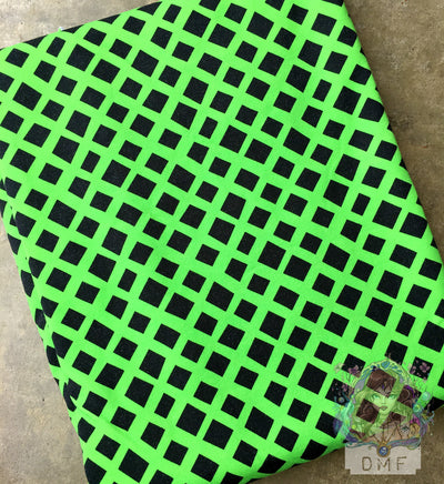 WOVEN Cotton -  Neon Green Mega Nets