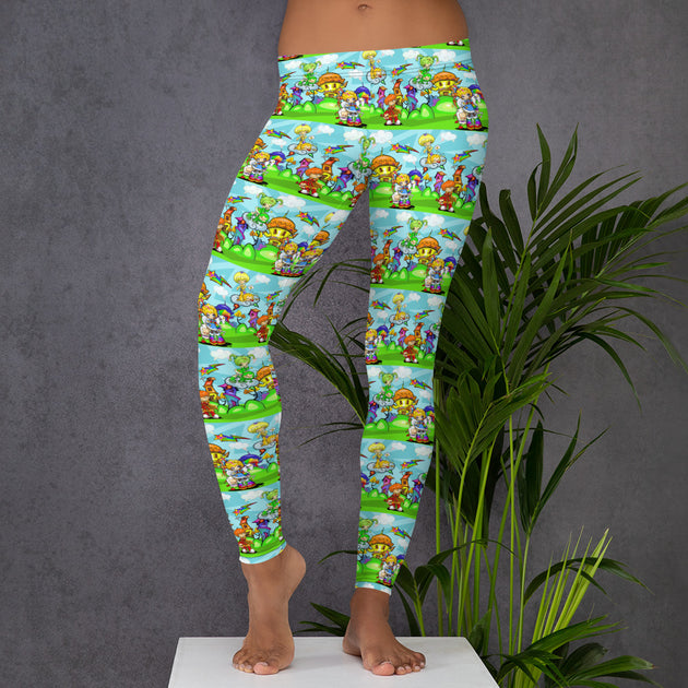 Rainbow Fright Leggings