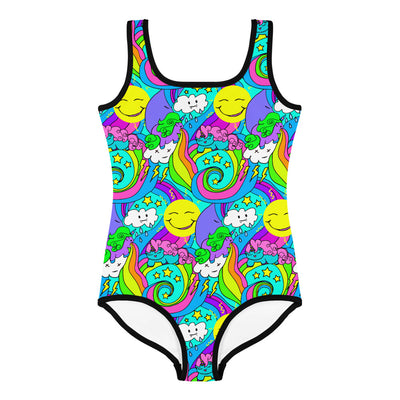 Snarf Barf Kid's Swimsuit