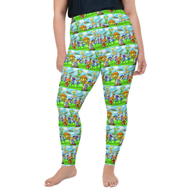 Rainbow Fright Plus Size Leggings