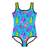 Bright Trolls Kid's Swimsuit