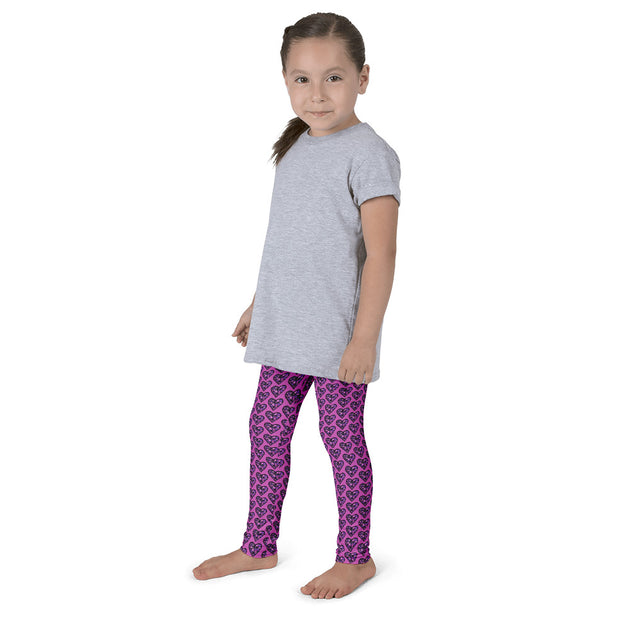 Sugarplum Hearts Children's Leggings