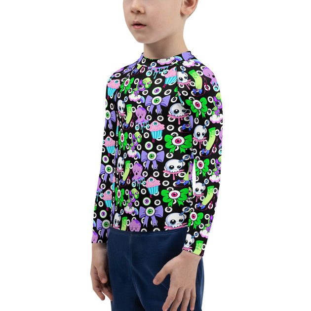 Dark Oculus Unisex Kid's Rash Guard