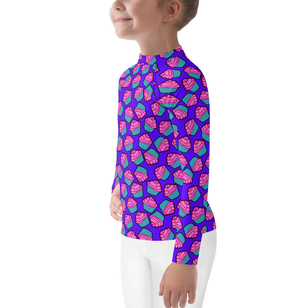 Munchy Cakes Unisex Kid's Rash Guard