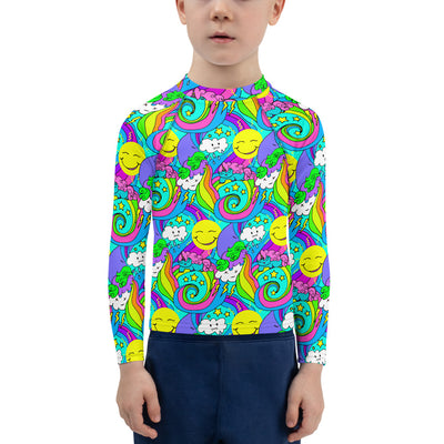Snarf Barf Unisex Kid's Rash Guard